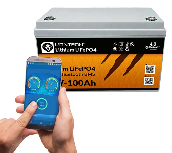 Liontron Smart BMS LiFePO4 Batterie 12V 100Ah