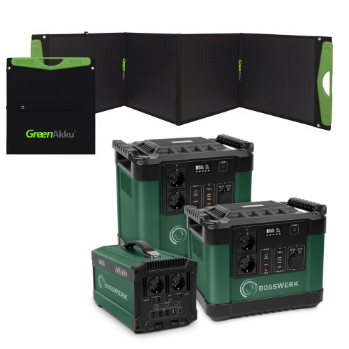Solarkoffer und Taschen