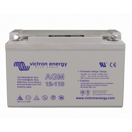 Victron Energy 12V 110Ah Deep Cycle AGM Batterie