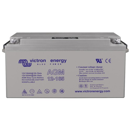 Victron Energy 12V 165Ah Deep Cycle AGM Batterie