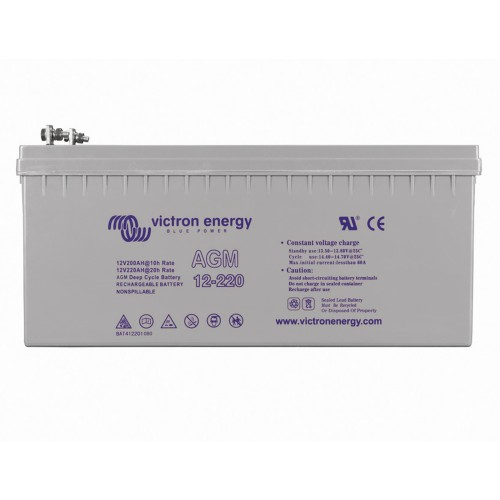 Victron Energy 12V 220Ah Deep Cycle AGM Batterie