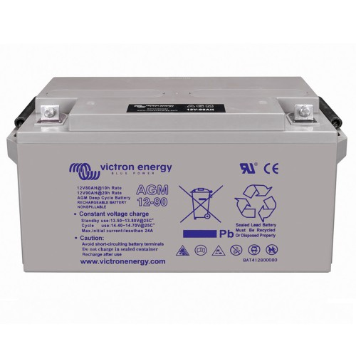 Victron Energy 12V 90Ah Deep Cycle AGM Batterie
