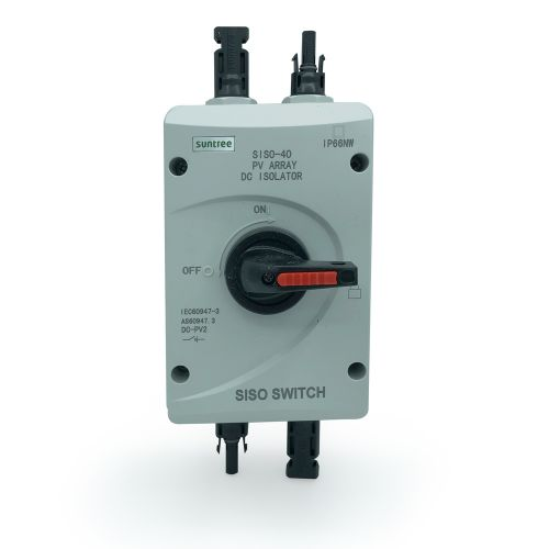 Suntree SISO-40 DC Switch Trennschalter 1000V DC / 32A IP66