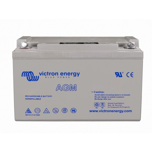 Victron Energy 12V 100Ah AGM Super Cycle Batterie