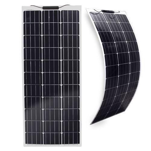 Semi-Flexibles Solarmodul Eco Monokristallin 100Wp
