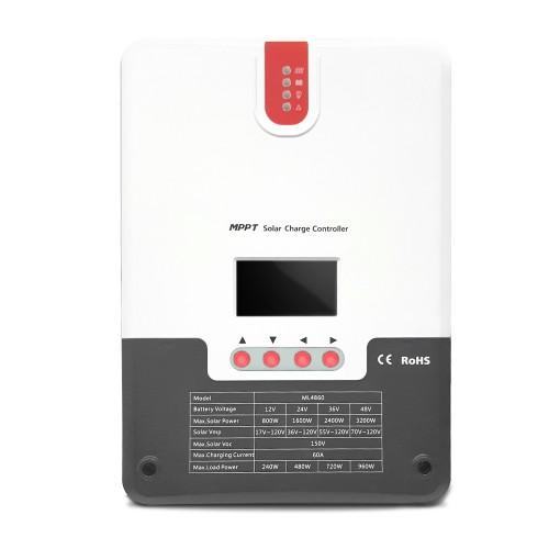 MPPT Solarladeregler SR-ML4860 - 60A 12/24/36/48V
