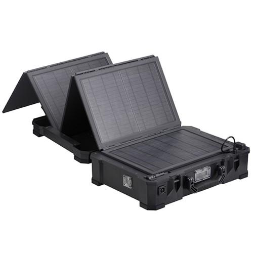 SunCase 50Wp Mono 12V 48Ah Lithium Akku 350W Wechselrichter