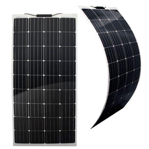 Semi-Flexibles Solarmodul Eco Monokristallin 160Wp