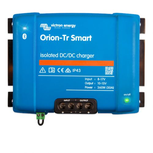 Orion-Tr Smart 12/12-18A (220W)  DC-DC Ladegerät / Ladebooster, galv. Isoliert