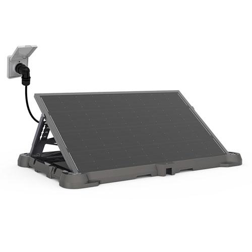 TSUN Easy Solar Kit AC-Solarmodul 310Wp inkl. Aufständerung