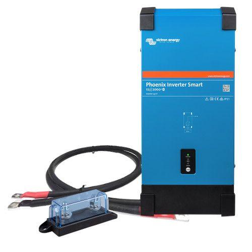 Victron Energy Phoenix smart 12/2000 inkl. Kabel und Sicherung