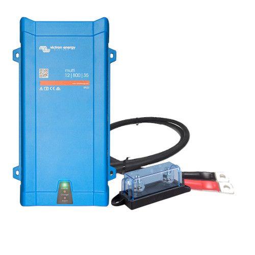 Victron Multiplus 12/800 inkl. Kabel und Sicherung