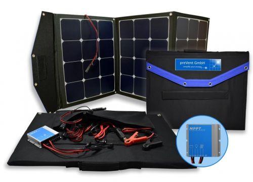 Prevent Solartasche 120W mit MPPT Laderegler