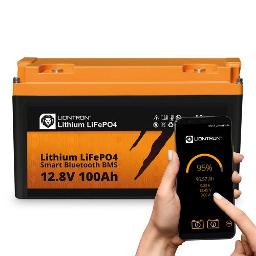 LIONTRON LiFePO4 12,8V 100Ah LX Arctic BMS mit Bluetooth