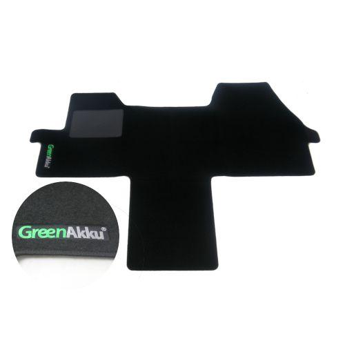 GreenAkku Fußmatte für Ducato schwarz