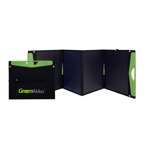 GreenAkku Solartasche 120Wp mono