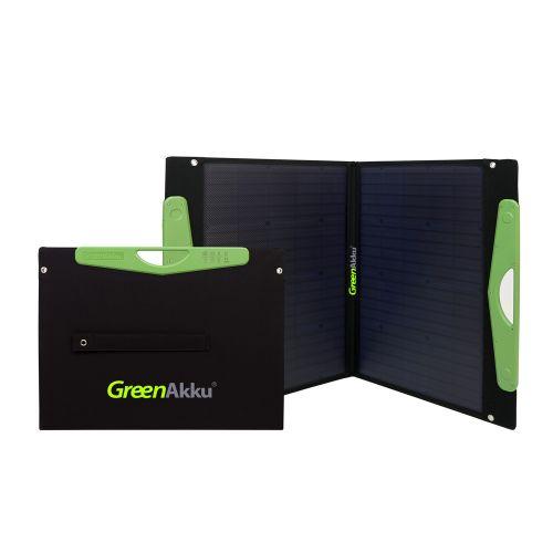 GreenAkku Solartasche 100Wp mono