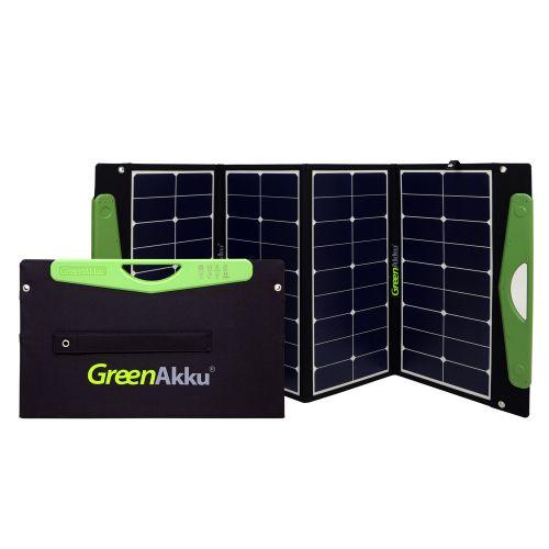 GreenAkku Solartasche 120Wp SUNPOWER