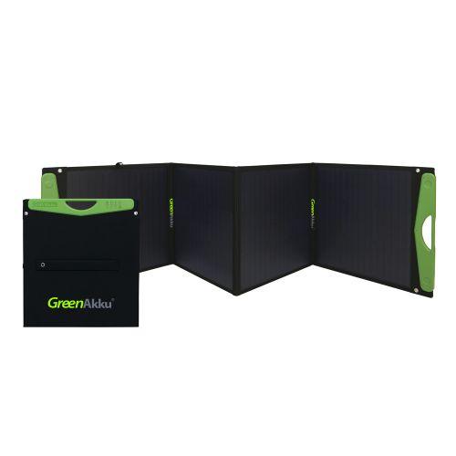 GreenAkku Solartasche 180Wp mono