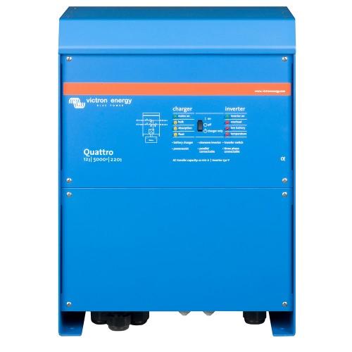 Quattro 12/5000/220-100/100 Wechselrichter/Ladegerät