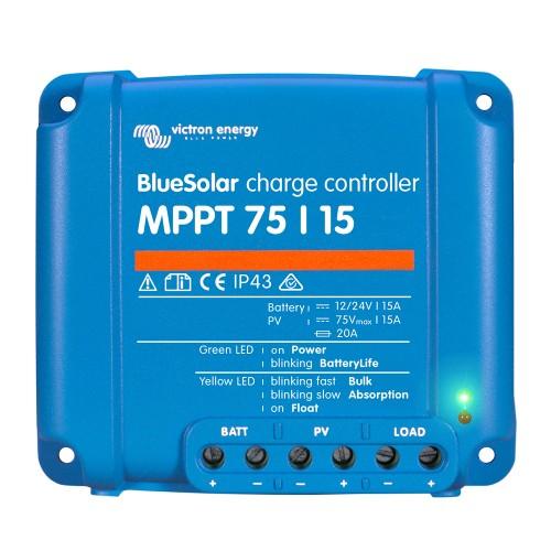 BlueSolar MPPT 75/15 Solarladeregler 12/24V 15A