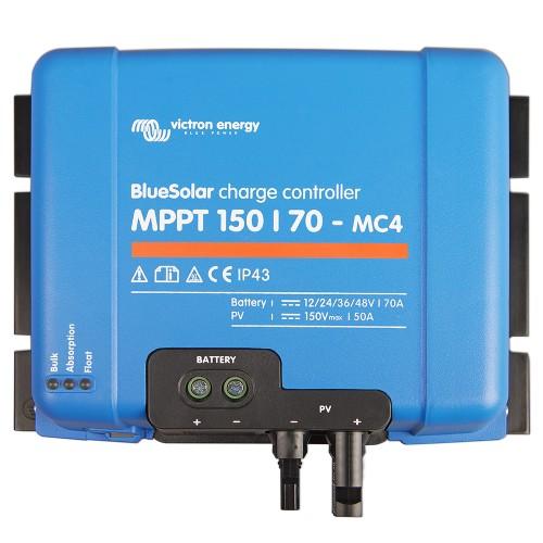 BlueSolar MPPT 150/70-MC4 Solarladeregler 12/24/36/48V 70A