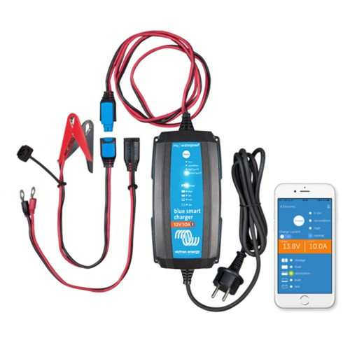Blue Smart IP65 Ladegerät 12/15 12V 15Amp CEE 7/17