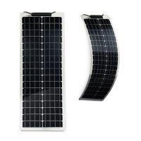 Semi-Flexibles Solarmodul Eco Monokristallin 50Wp - Lang