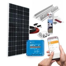 mobilPV 100Wp Solaranlage für Wohnmobile / Wohnwagen / Boote