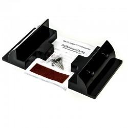 WATTSTUNDE  Solarmodulverbinder Solarmodulhalterung ABS Kunststoff, schwarz