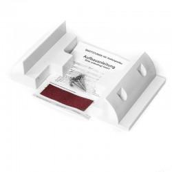 WATTSTUNDE  Solarmodulverbinder Solarmodulhalterung ABS Kunststoff, weiß