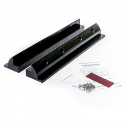 WATTSTUNDE Haltespoiler Set 53cm Solarmodulhalterung ABS Kunststoff, schwarz