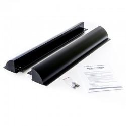 WATTSTUNDE Haltespoiler Set 55cm Solarmodulhalterung ALU, schwarz