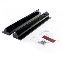 WATTSTUNDE Haltespoiler Set 68cm Solarmodulhalterung ABS Kunststoff, schwarz