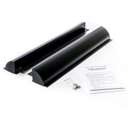 WATTSTUNDE Haltespoiler Set 68cm Solarmodulhalterung ALU, schwarz
