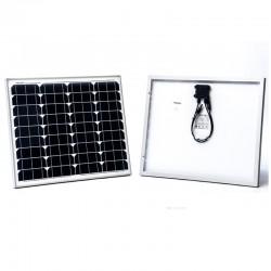 WATTSTUNDE Solarmodul 50Wp Monokristallin