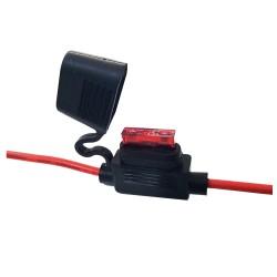 KFZ Flachsicherungshalter max. 32V / 20A mit Kabel
