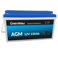 LIONTRON Zyklenfeste AGM Batterie 12V 150Ah