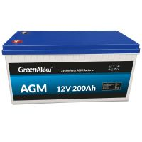 LIONTRON Zyklenfeste AGM Batterie 12V 200Ah