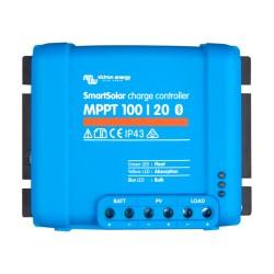 SmartSolar MPPT 100/20-48V Solarladeregler 12-48V 20A