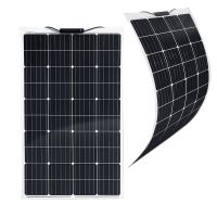 Semi-Flexibles Solarmodul Eco Monokristallin 120Wp