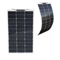 Semi-Flexibles Solarmodul Eco Monokristallin 80Wp