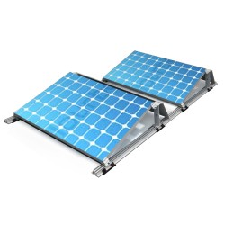 BK Solare Zukunft IROC S3 Montagesystem [2x250-380Wp] (Süd)