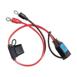 Anschlusskabel für Blue Power IP65 mit Ringösen M8, 30A ATO Sicherung