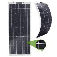 Semi-Flexibles Solarmodul ETFE Marine Monokristallin 100Wp