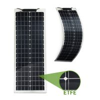 Semi-Flexibles Solarmodul ETFE Marine Monokristallin 50Wp - Lang