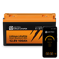 LIONTRON LiFePO4 12,8V 100Ah LX Smart BMS mit Bluetooth