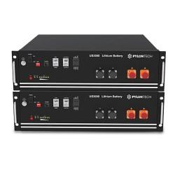 PYLONTECH LiFePO4 Speicher 48V - 7,0 kWh - 2xUS3000