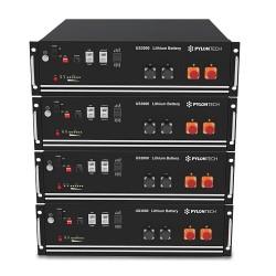 PYLONTECH LiFePO4 Speicher 48V - 14,0 kWh - 4xUS3000