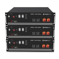 PYLONTECH LiFePO4 Speicher 48V - 10,5 kWh - 3xUS3000